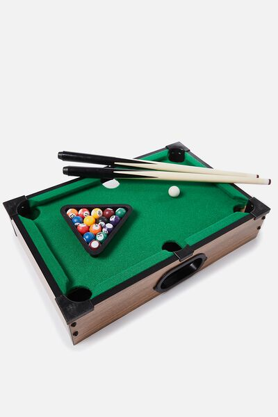 Desktop Pool Game, MULTI