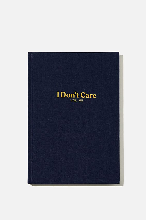 A5 Oxford Notebook, I DONT CARE