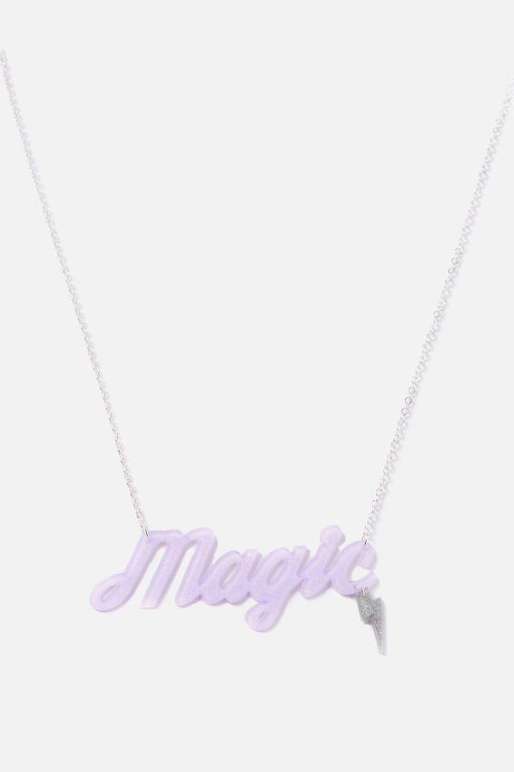 Premium Novelty Necklace, MAGIC