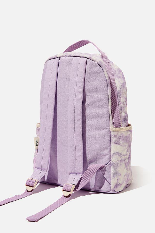 Exclusive Alumni Backpack, LCN CLC CAREBEARS LILAC TIE DYE