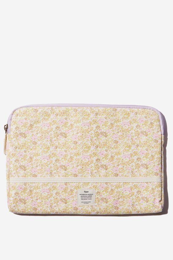 Take Me Away 11 Inch Laptop Case, SUZI FLORAL