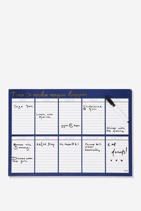 A3 Magnetic Planner, MAKE MAGIC