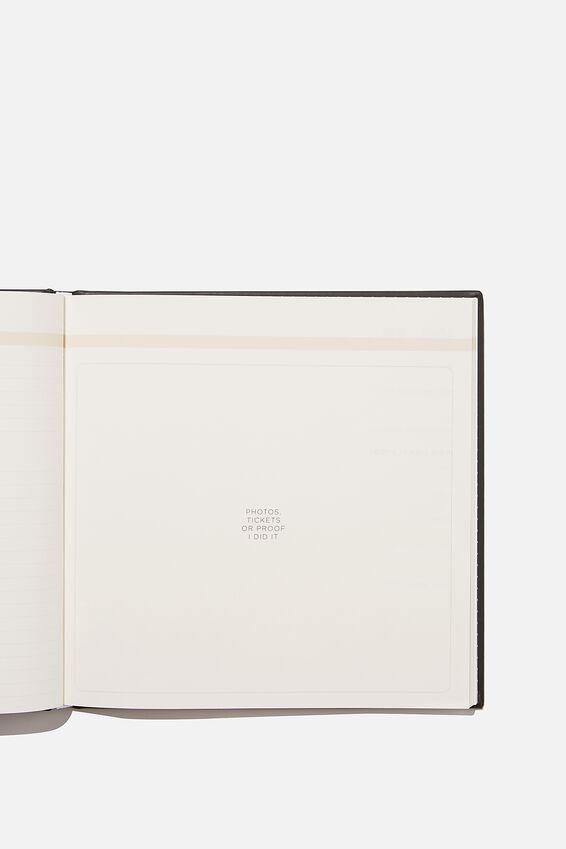 A5 Activity Book, THE BUCKET LIST