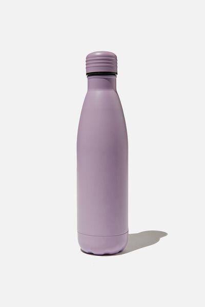 Metal Drink Bottle, HEATHER