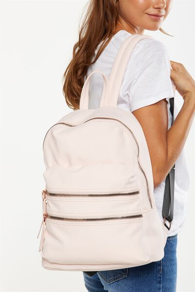 Berlin Backpack, BLUSH
