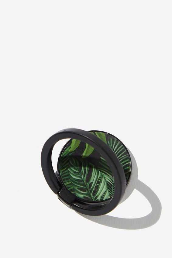 Metal Phone Ring, FERN FOLIAGE