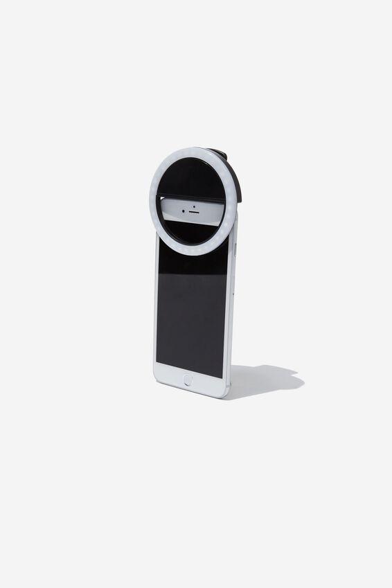 Selfie Phone Ring Light, MULTICOLOURED