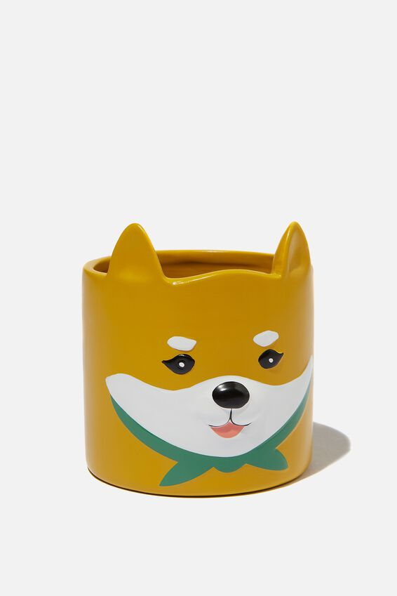 Small Shaped Planter, SHIBA INU