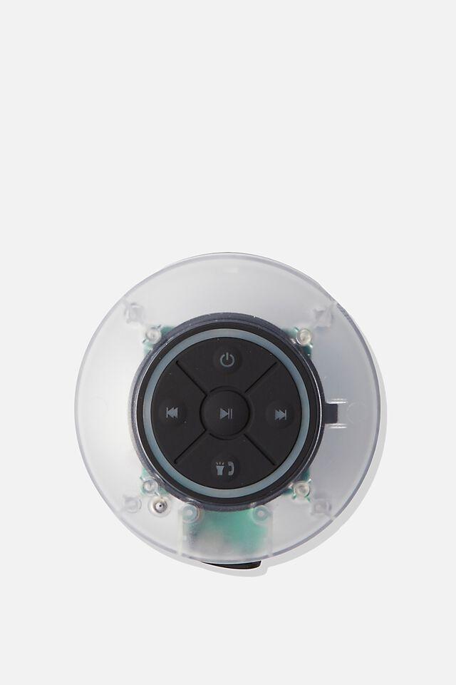 Wireless Led Shower Speaker, TRANSLUSCENT 2.0