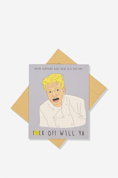 Cards With Personality, F**K OFF WILL YA!!
