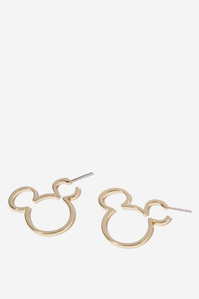 Lcn Novelty Earrings, LCN DIS MICKEY HOOP