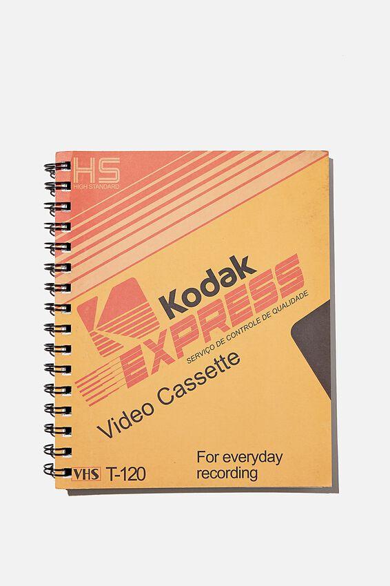 A5 Kodak Campus Notebook Recycled, LCN KOD KODAK GOLD