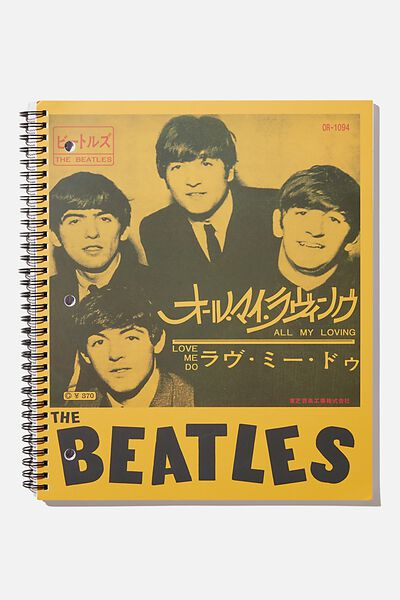 College Ruled Campus Notebook, LCN APP THE BEATLES