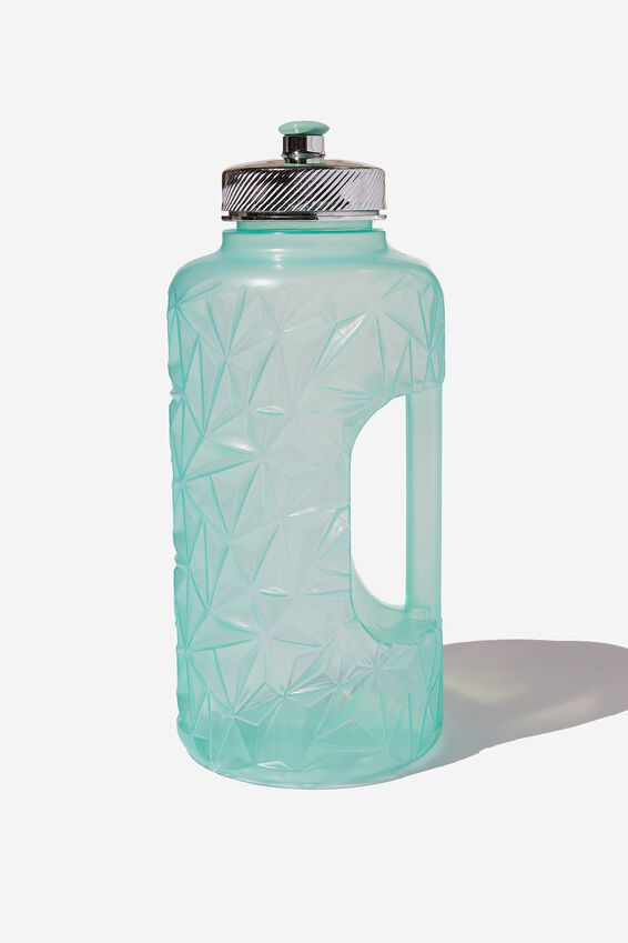 Faceted Drink Bottle, MINT