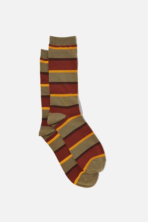 Socks, 70 S CHUNKY STRIPES