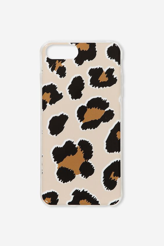 Printed Phone Cover 6,7,8 Plus, LEOPARD