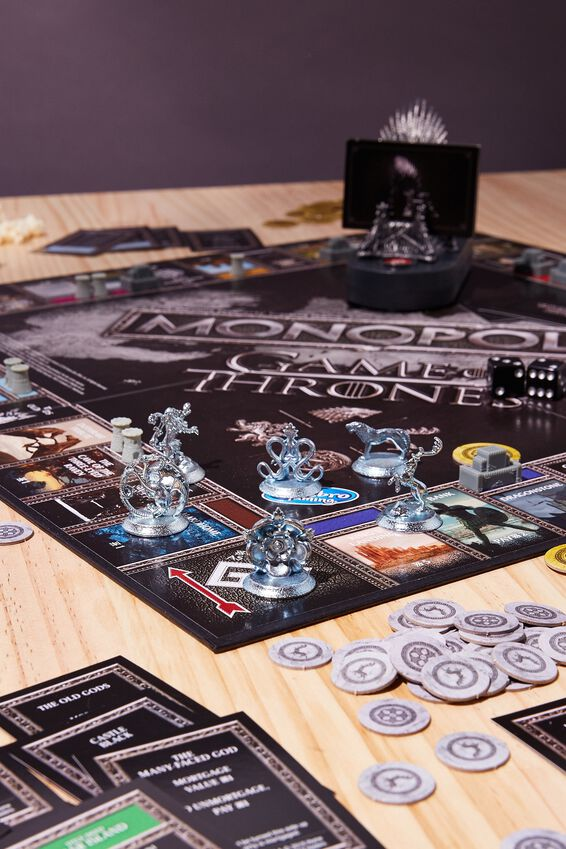 Game of Thrones Monopoly, GAME OF THRONES