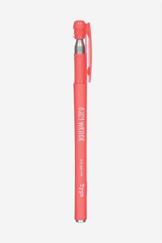 Easy Writer Gel Pen, CORAL