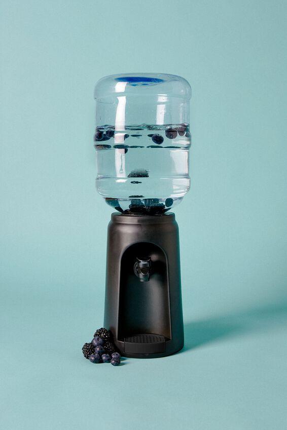 Desktop Water Cooler, BLACK