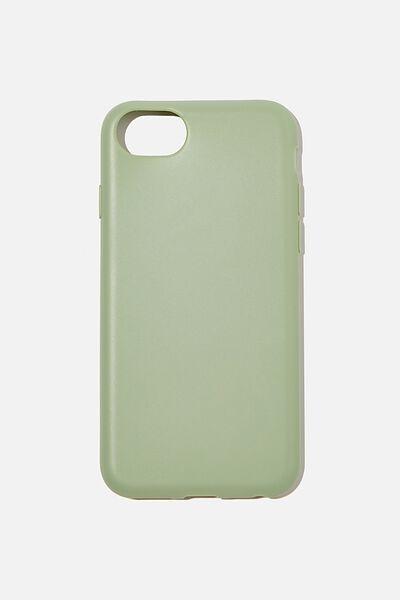 Recycled Phone Case iPhone 6, 7 ,8, SE, GUM LEAF