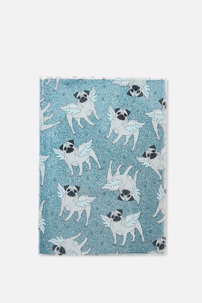 A5 Pvc Covered Notebook, PUGICORN