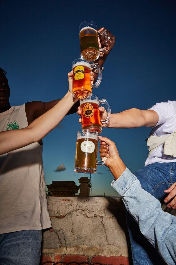 Beer Glass Mug, BOOZY CLUB!
