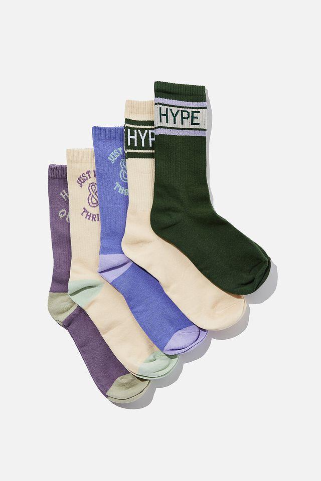 Box Of Socks, HYPE QUEEN (S/M)