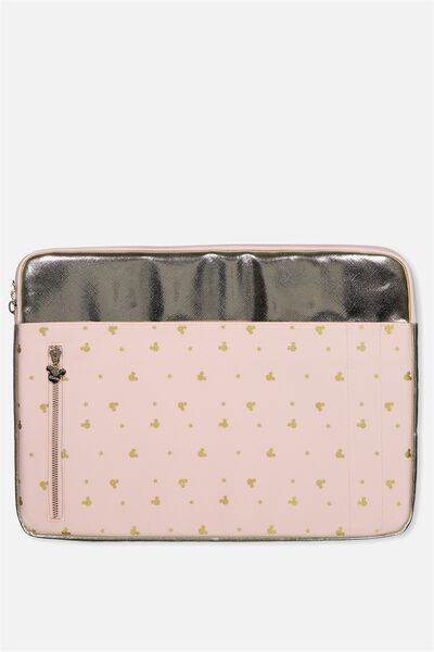 "Take Charge Laptop Cover 15"", LCN BLUSH MICKEY YARDAGE"