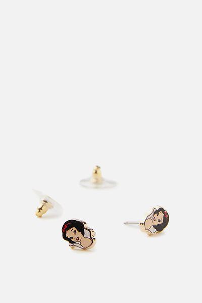 Novelty Earrings, LCN SNOW WHITE