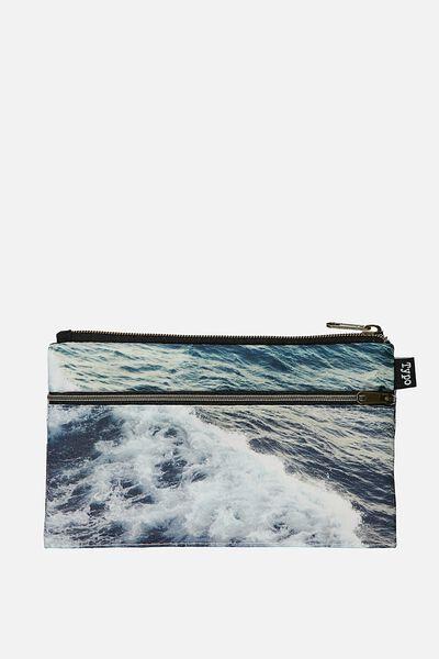 Archer Pencil Case, WATER