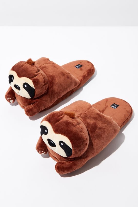 Novelty Slippers, SLOTH