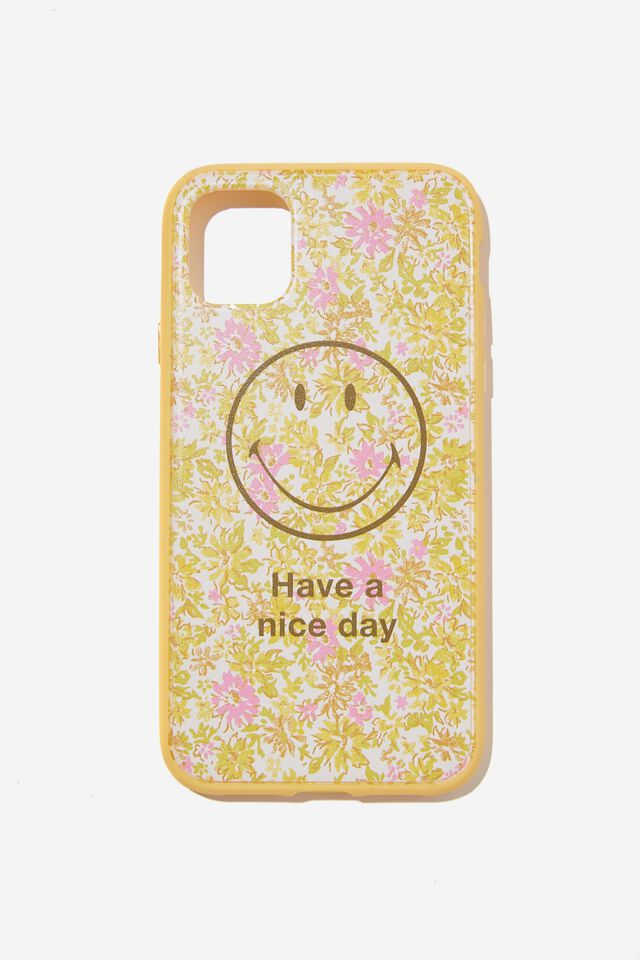 Protective Phone Case iPhone 11, LCN SMI SMILEY COTTAGE CORE