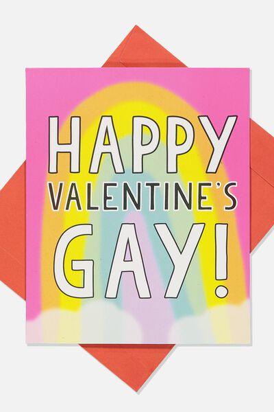 Valentines Day Card 2019, VALENTINES GAY