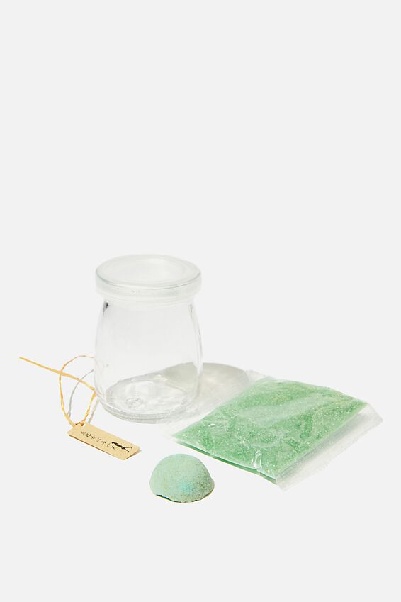 Mini Crystal Growing Kit, GREEN