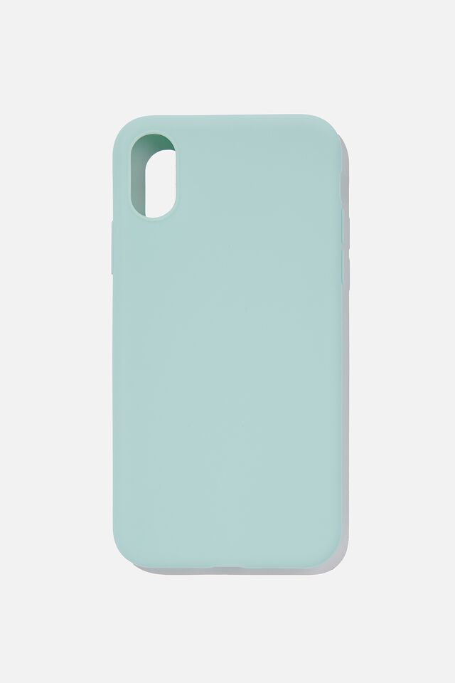 Recycled Phone Case iPhone X, Xs, WATER BLUE