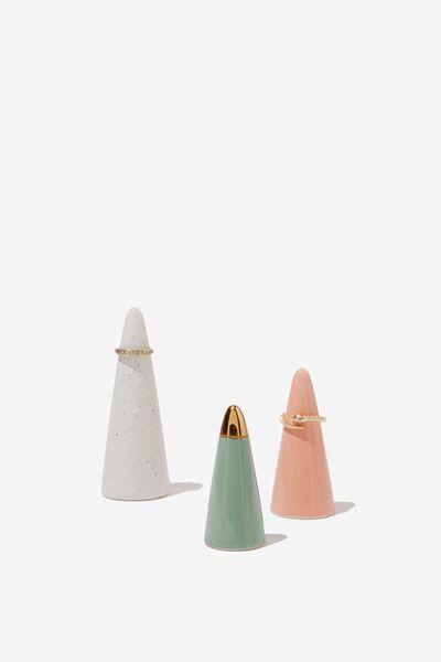Jewellery Cones, PASTEL MULTI