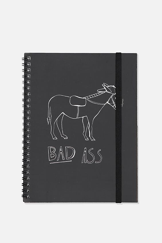 A5 Spinout Notebook Recycled, TBAR BAD ASS!!