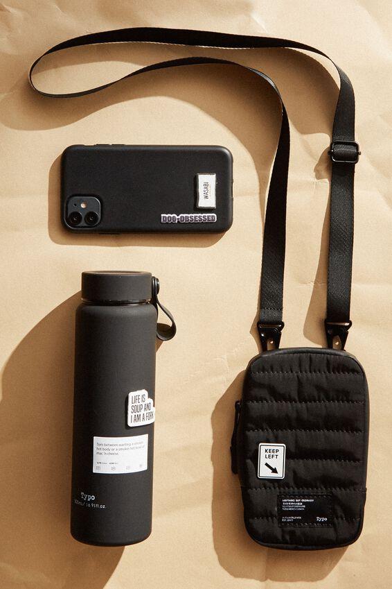 Essential Phone Sling, BLACK & GREY