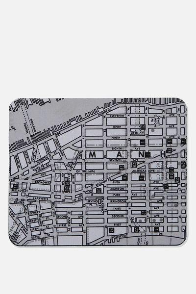 Neoprene Mouse Pad, NY MAP