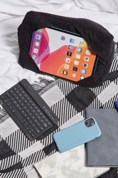 Tablet Cushion, BLACK CORD