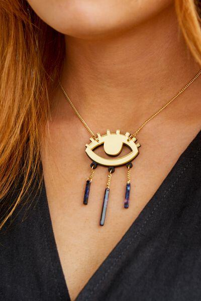 Premium Novelty Necklace, EYE