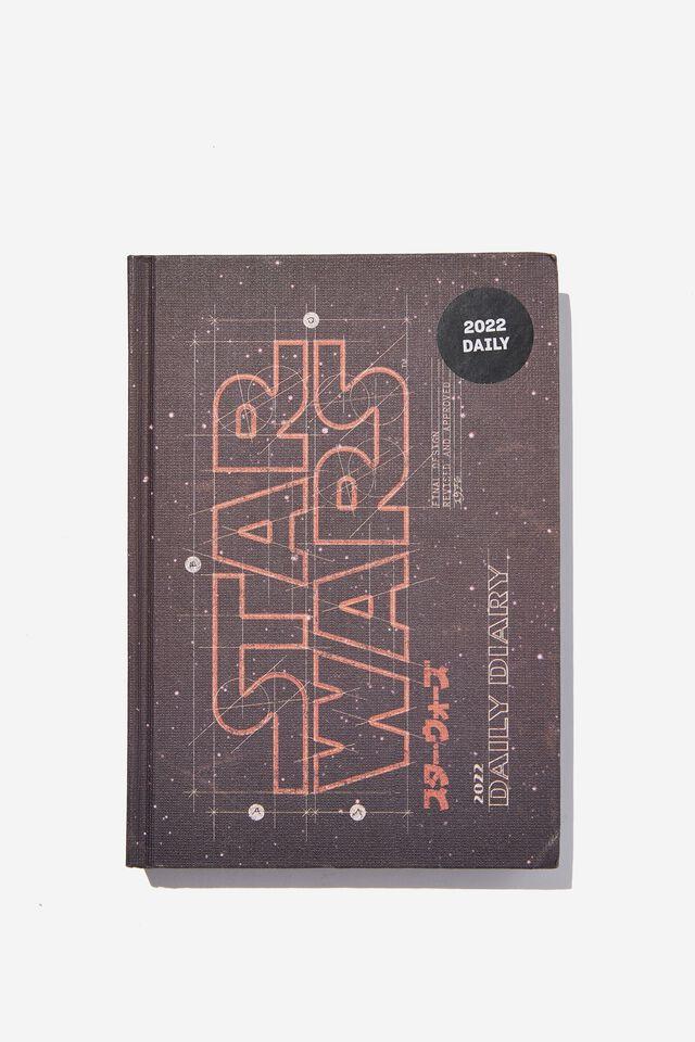 2022 Big Ticket Daily Diary Star Wars, LCN LUC STAR WARS