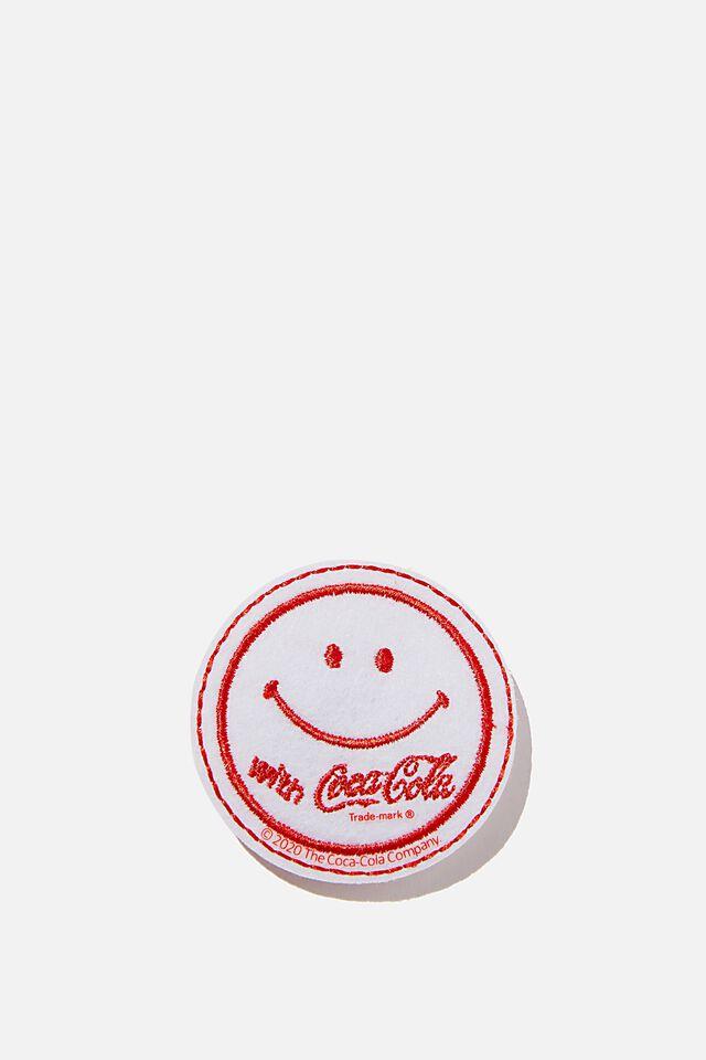 Coca Cola Fabric Badge, LCN COK COKE