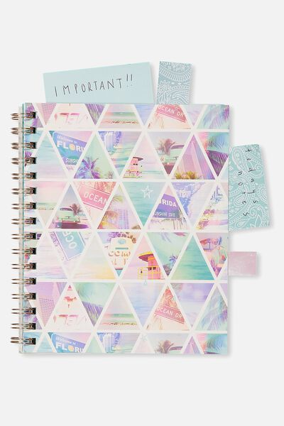 A5 Campus Notebook - 240 Pages, TRIANGLE COLLAGE