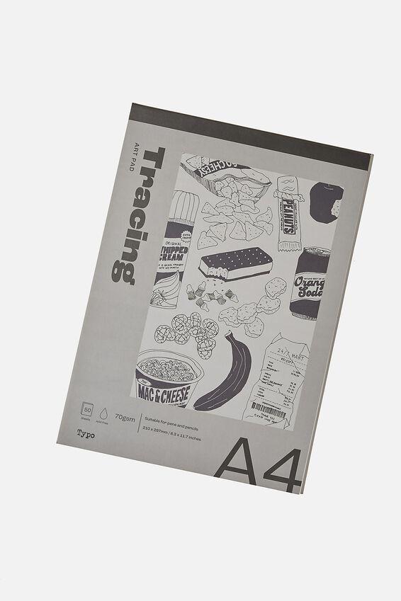 The A4 Art Pad, TRANSPARENT