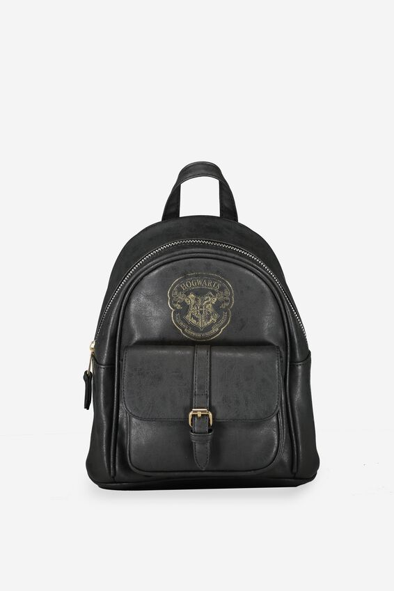 Harry Potter Backpack, LCN BLACK HOGWARTS