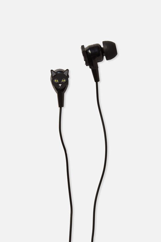 Novelty Earphones, CAT