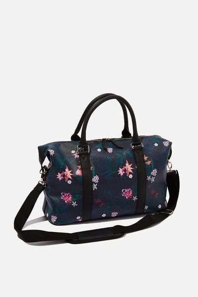 Weekend Away Duffel Bag, JUNGLE FLORAL