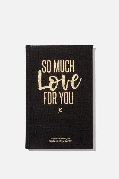 "A5 Activity Book (8.27"" x 5.83""), SO MUCH LOVE FOR YOU - WEDDINGS"