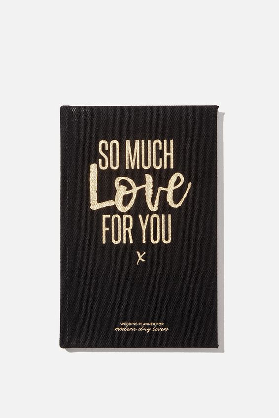 A5 Wedding Activity Book, SO MUCH LOVE FOR YOU - WEDDINGS